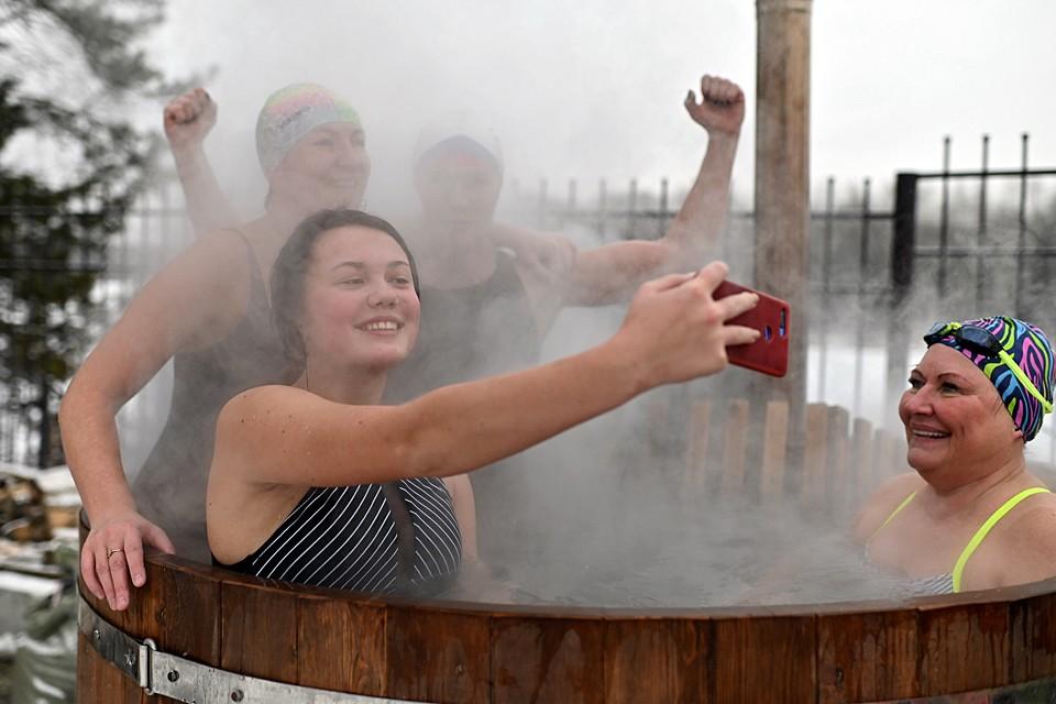 В Тюмене прошел открытый чемпионат по зимнему плаванию