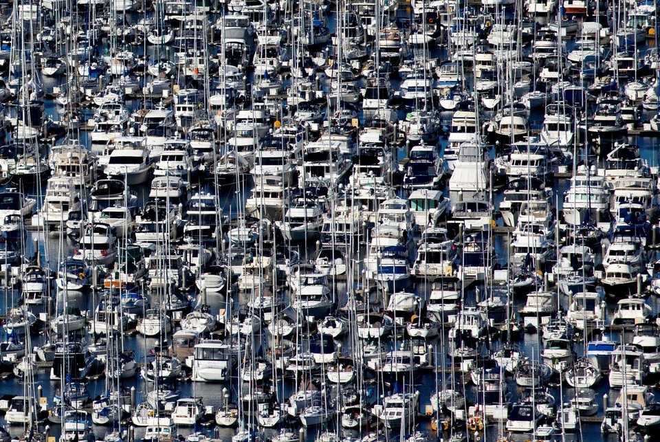 Сотни яхт пришвартованы у пирсов Сиэтла из-за карантина в штате.
