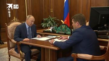 Путин поблагодарил Сигала за участие в сохранении байкальского омуля