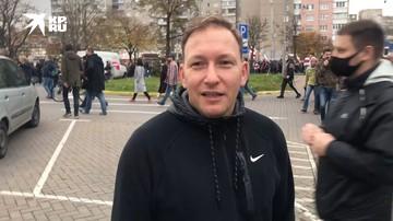 Экс-кандидат в президенты Беларуси Андрей Дмитриев об акции оппозиции в Минске