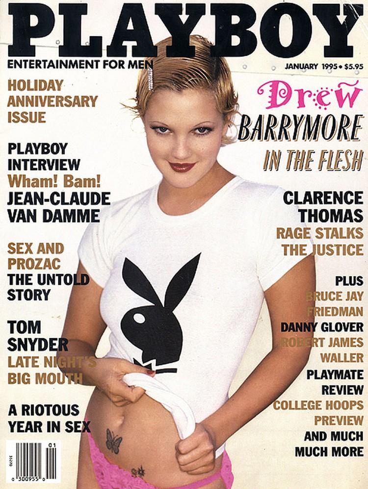 Съемка для Playboy есть и в карьере Дрю Бэрримор.