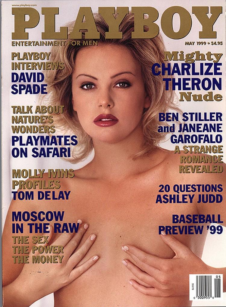 Шарлиз Терон появилась на обложке в 1999 году.