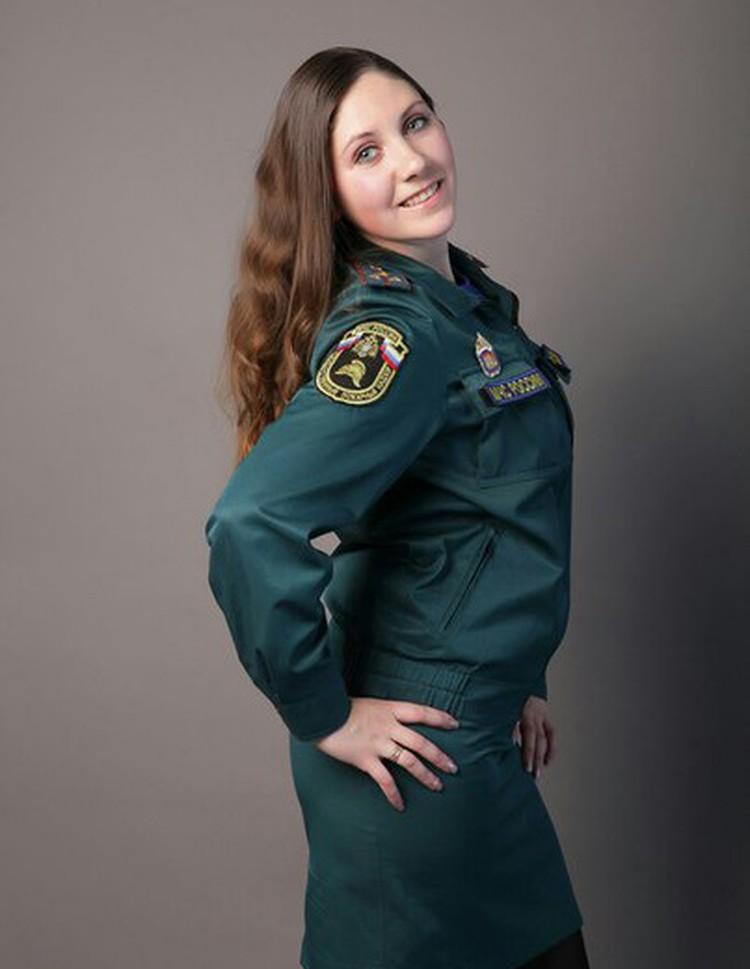 Эльвира Воскресенская была красой и гордостью петербургского МЧС. Фото: соцсети