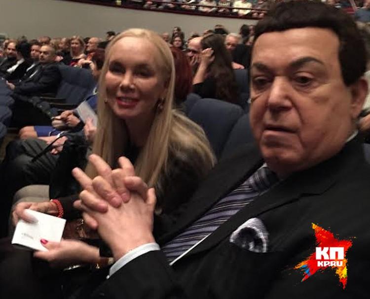 Неля и Иосиф Кобзон в Театре Сатиры