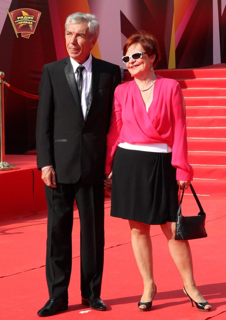Юрий Николаев с супругой Элеонорой.