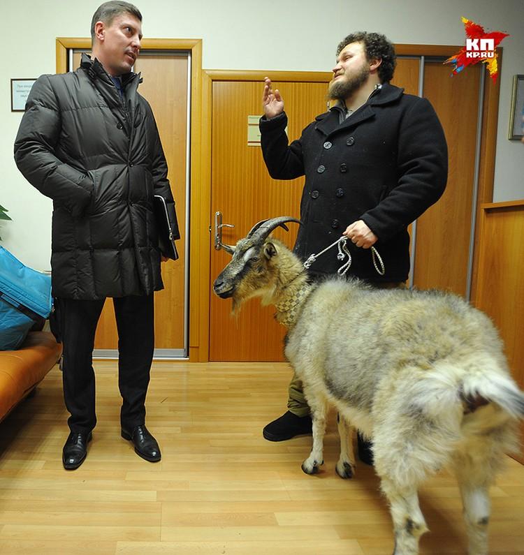 Разговор фермера Сироты и министра Степаненко.