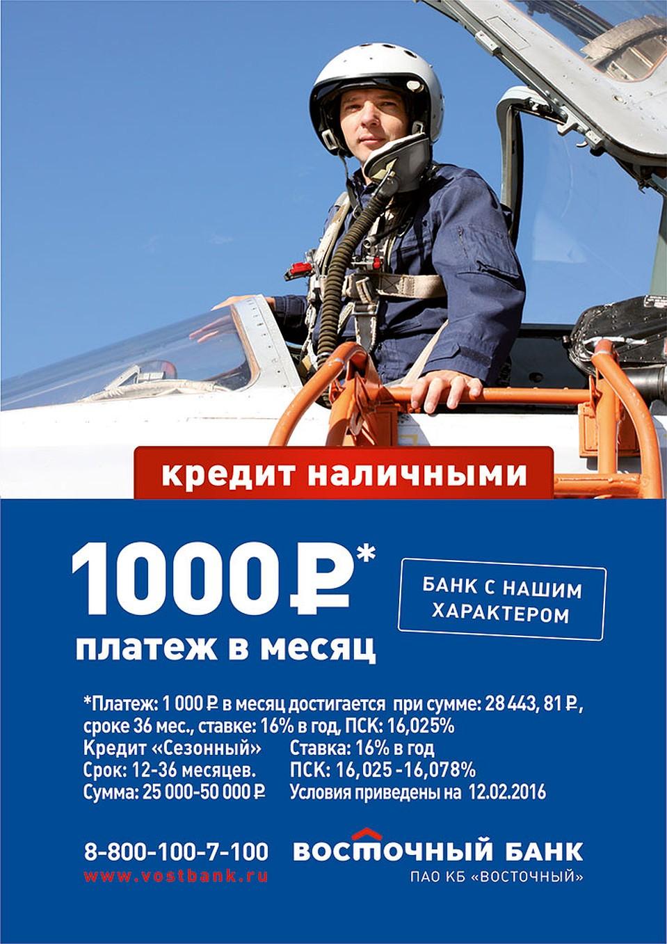 кредит наличными 50 000 рублей
