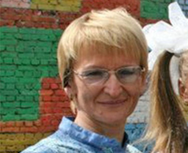 Светлана Гошт, жена Андрея.
