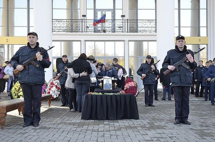 В Сызрани прошла церемония прощания с Андреем Гоштом и его родными