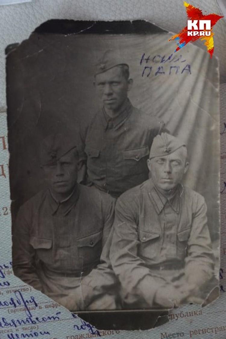 Николай Соколов героически погиб на фронте
