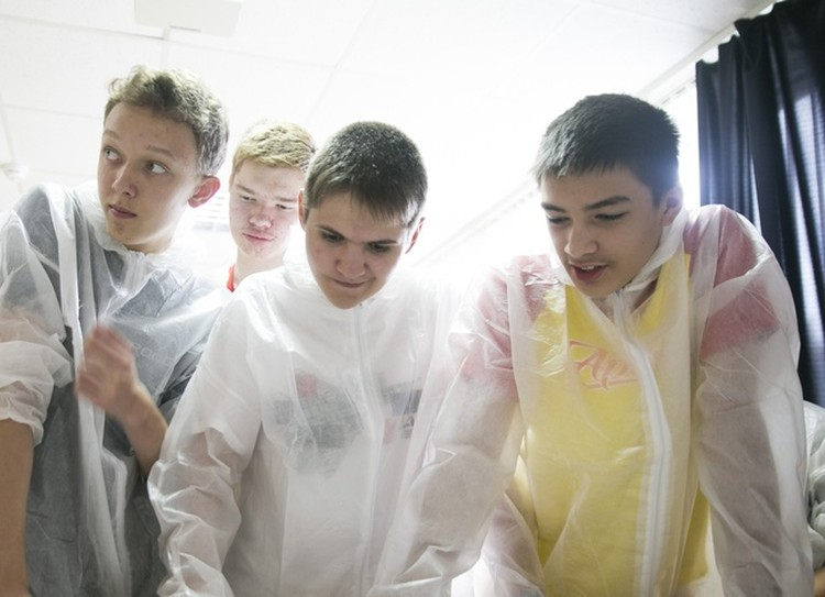 Фото: Пресс-служба МДЦ Артек. У ребят все как в настоящем конструкторском бюро