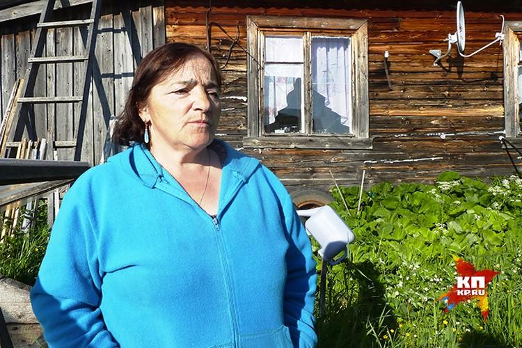 Бабушка Антонина очень жалеет пропавших внуков.
