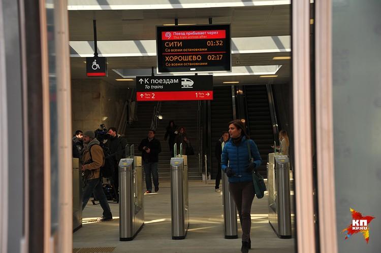 Всего в метро будет 17 пересадок на МКЖД