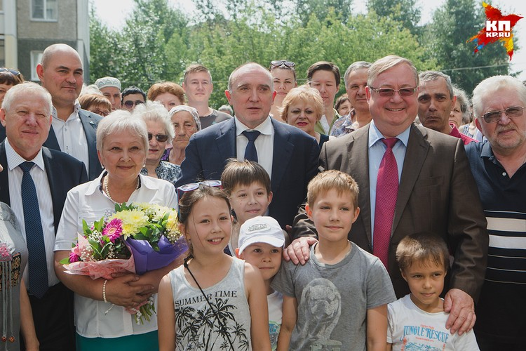 Для жильцов дома №21 по ул. Котина организовали большой праздник.