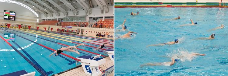 Поплавать в бассейне можно не только на занятиях, но и просто для поддержания формы.