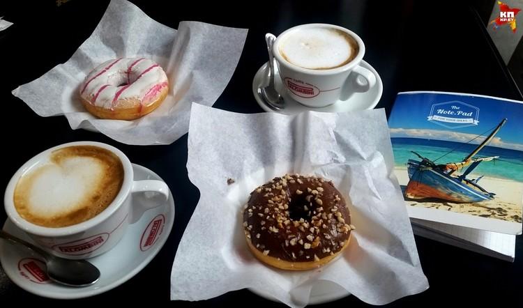 Такой завтрак обойдется в 5 евро.