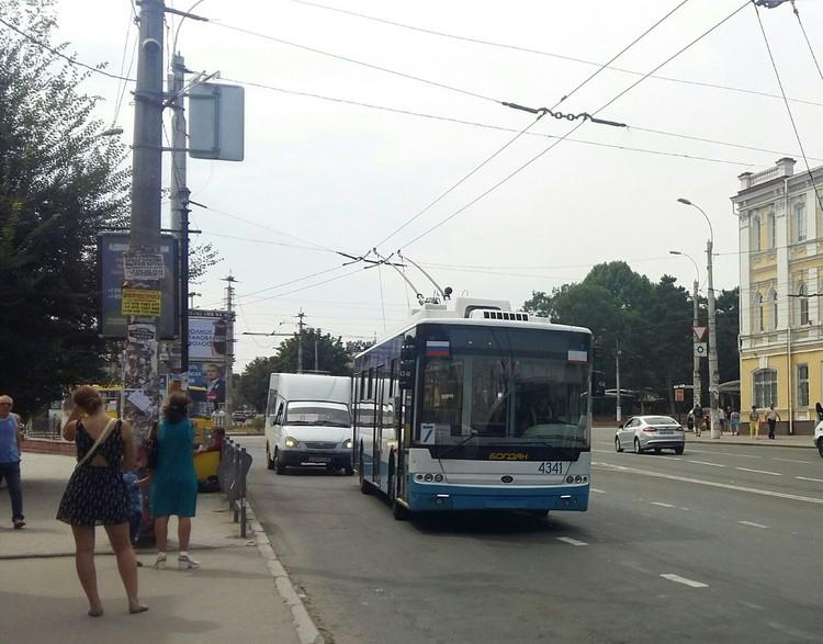Симферополь получит 17 новеньких троллейбусов на автономном ходу и 44 низкополых.