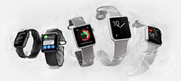 «Умные часы» Apple Watch второго поколения тоже получили защиту от воды.
