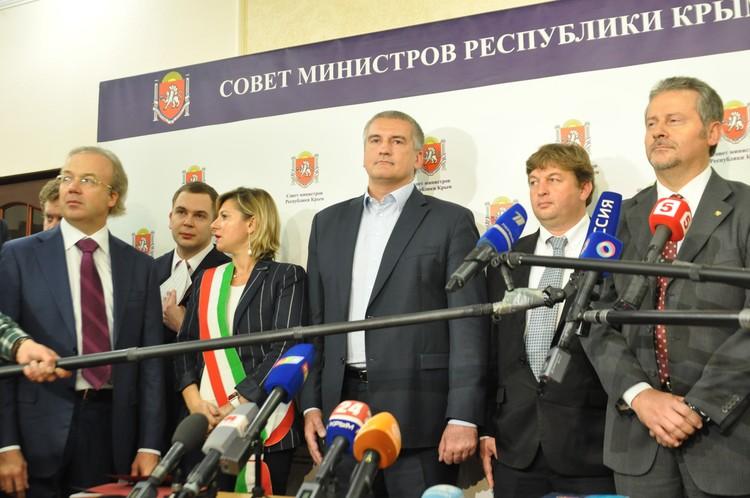 Встреча с Главой Крыма.
