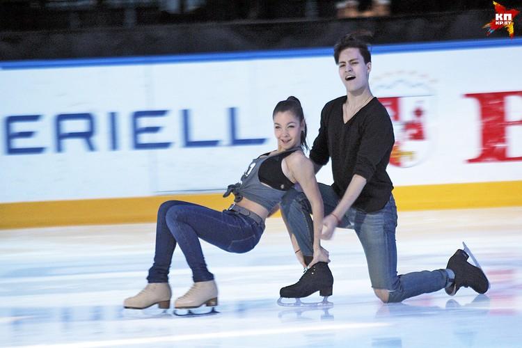 Выступление пары Анастасия Шпилевая и Григорий Смирнов, 2 место. Фото: РОЛЬСКИТЕ Мария