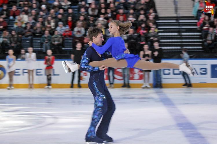 Выступление пары Эмилия Колеганова и Влад Полховский, Беларусь, 3 место. Фото: РОЛЬСКИТЕ Мария