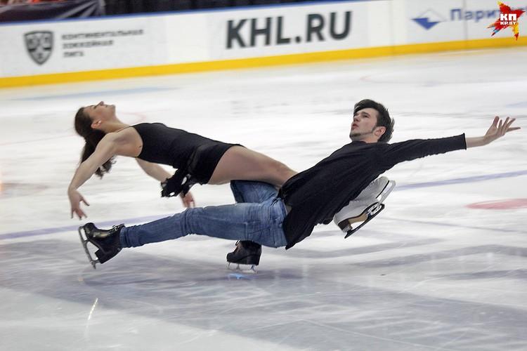 Выступление пары София Евдакимова и Базин, 3 место. Фото: РОЛЬСКИТЕ Мария