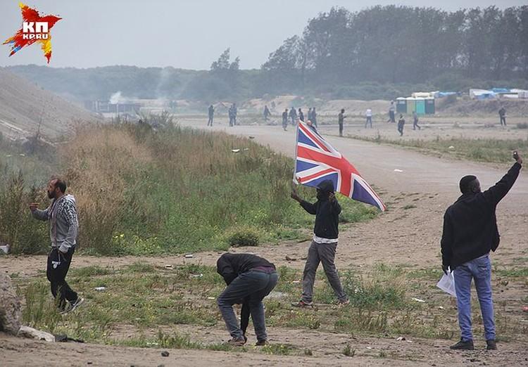 Беженцы пришли как завоеватели. ФОТО Clotaire Valentic