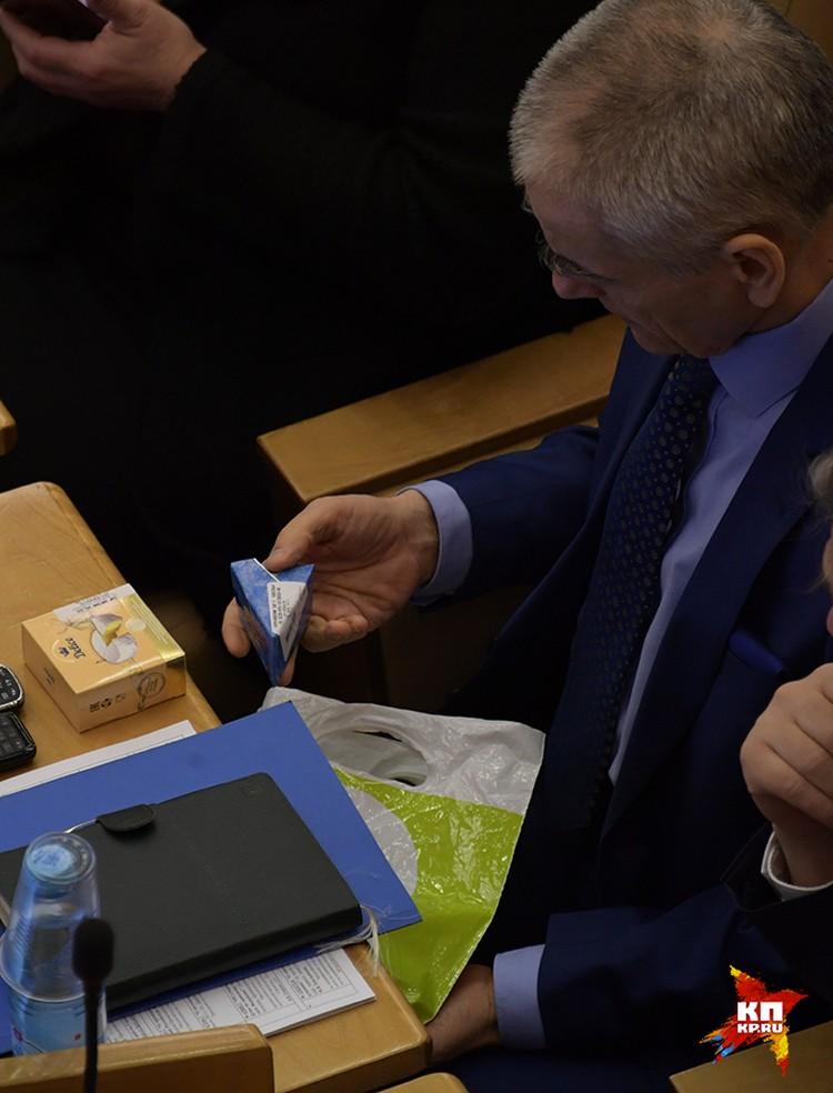 Это фото в среду, 11 января, сделал в Госдуме наш фотокор Виктор Гусейнов