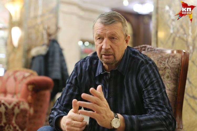 Один из ведущих экспертов КХЛ Сергей Гимаев
