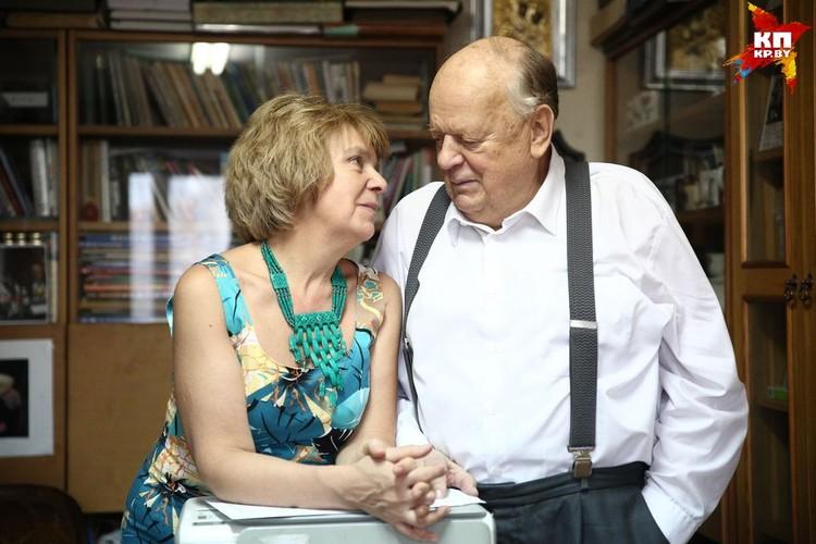 С женой Ириной Станислав Станиславович в прошлом году отметил рубиновую свадьбу - 40 лет вместе.
