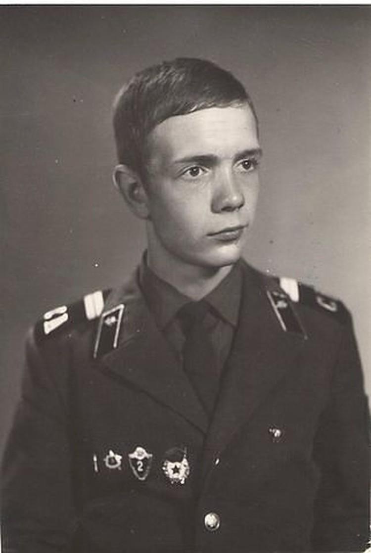 Василий Шлягун служил в Мурманске