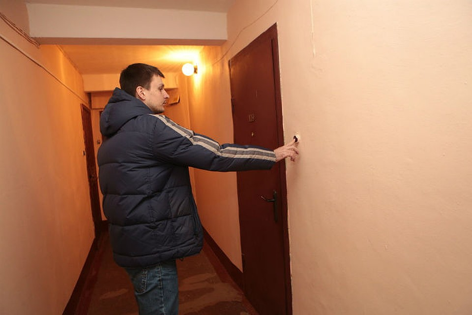 управляющая компания опечатала квартиру