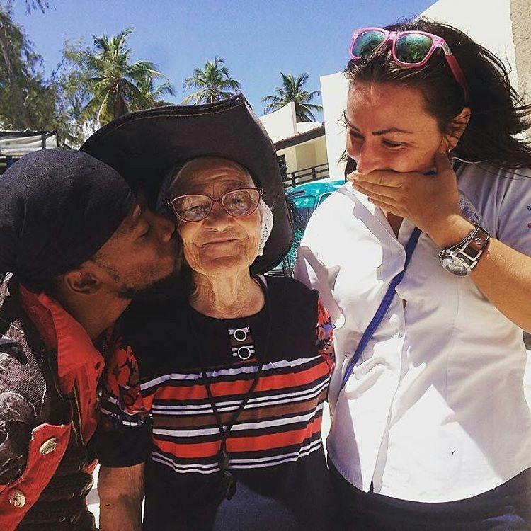 Баба Лена в Доминикане
