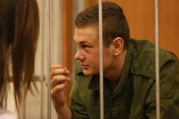 Степан Даценко на избрании меры пресечения в суде.