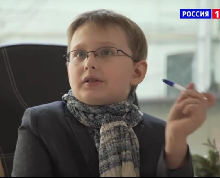 """На любое действие у Михаила есть тактика и стратегия. Фото: стоп-кадр """"Россия-1""""."""
