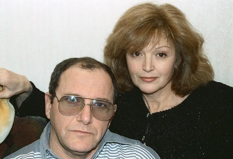 1997 год. Алла Балтер и Эммануил Виторган. Фото Татьяны Кузьминой /ИТАР-ТАСС/
