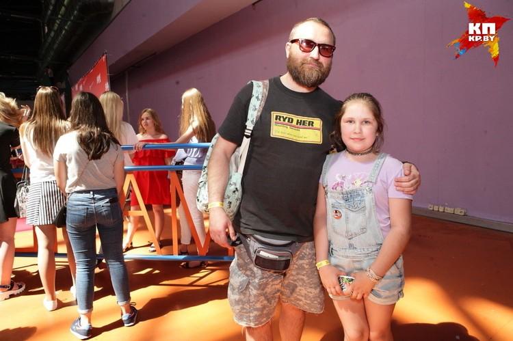 Родителей, которые пришли на фестиваль вместе с детьми, похвалили со сцены. За сознательность!