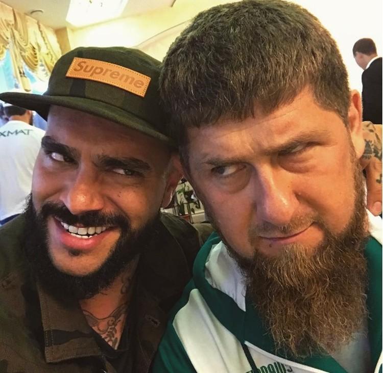 Рамзан Кадыров и Тимати. Фото: Instagram