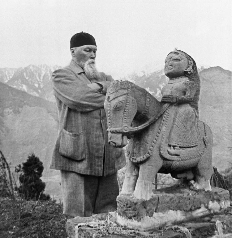 Русский живописец, археолог, путешественник, общественный деятель Николай Рерих в 1940 году. Фото /ИТАР-ТАСС/