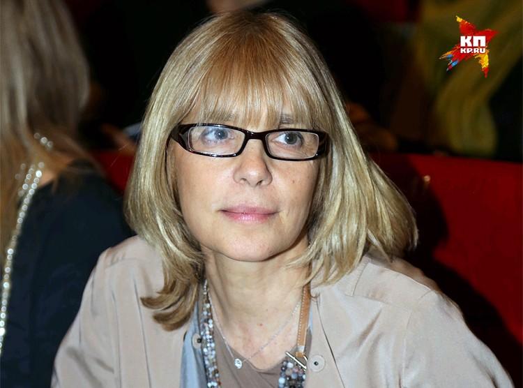 Вера Глаголева осенью 2014 года.