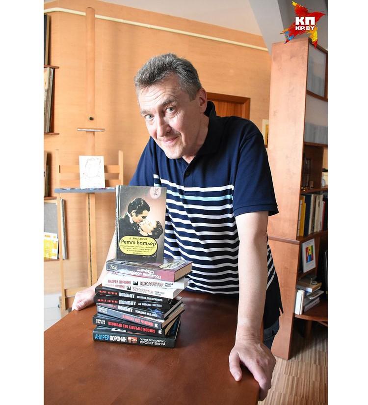 Адам Глобус еще и автор идеи нового русского детектива, который появился, когда история с кинороманами пошла на спад.