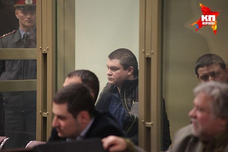 Сергей Цапок в зале суда