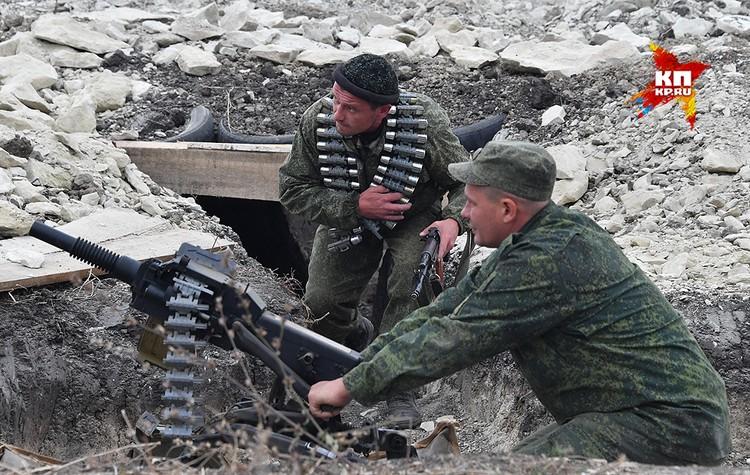 Автоматический гранатомет АГС-17.