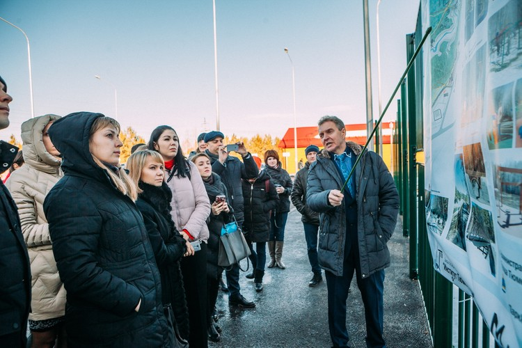 Гости из Воронежа на стажировке в Тюмени. Фото: пресс-служба городской администрации.