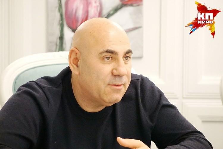 Иосиф Пригожин в Воронеже.