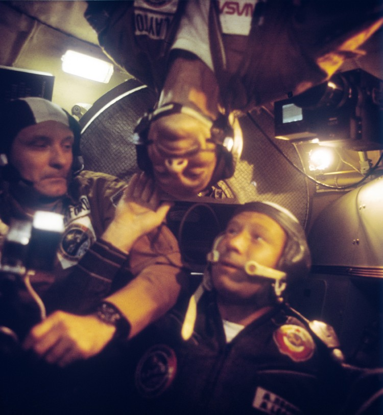 В 1975 году на орбите состыковались советский корабль «Союз-19» и американский «Аполлон»