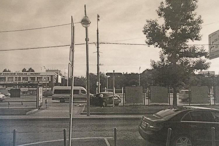 Место аварии. Фото: личный архив Никиты Муллина