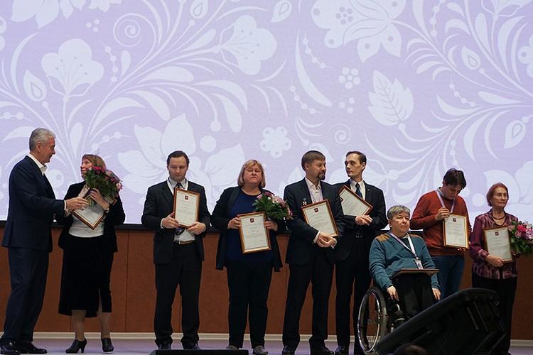 Сергей Собянин наградил тех, кто вносит огромный вклад в развитие и популяризацию добровольчества в столице