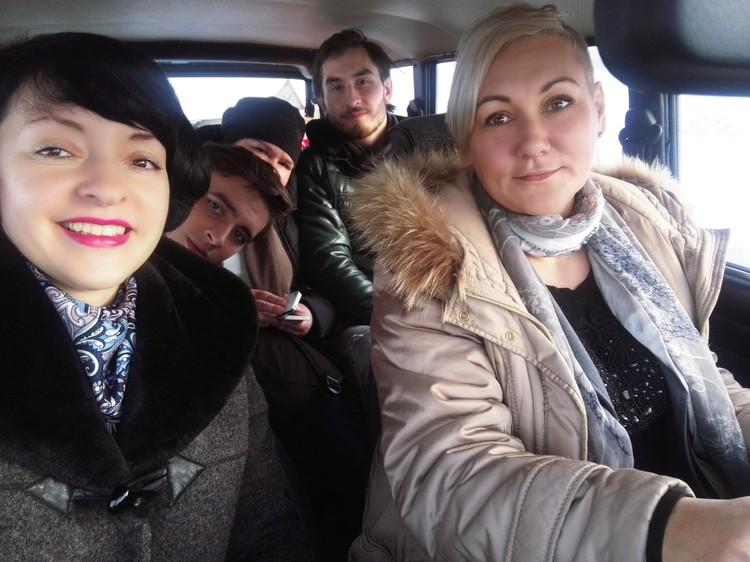 Мы выехали из Донецка и кажется все преграды позади. Как бы не так!
