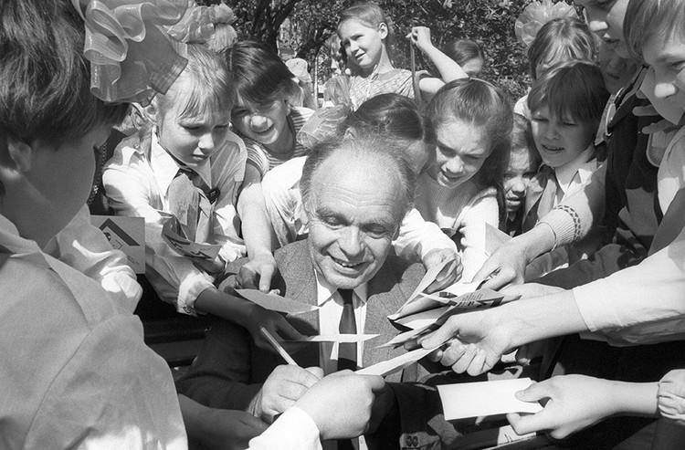 Умер Владимир Шаинский, автор всенародно любимых детских песен